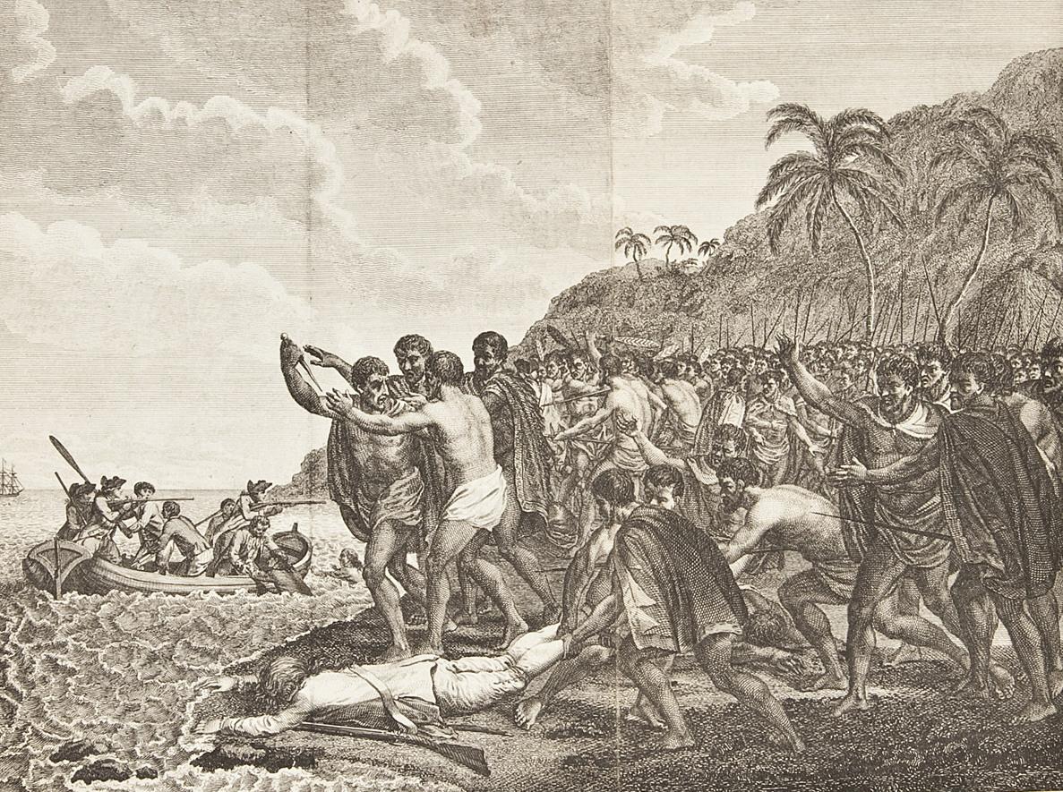 Captain Of Cook Islands