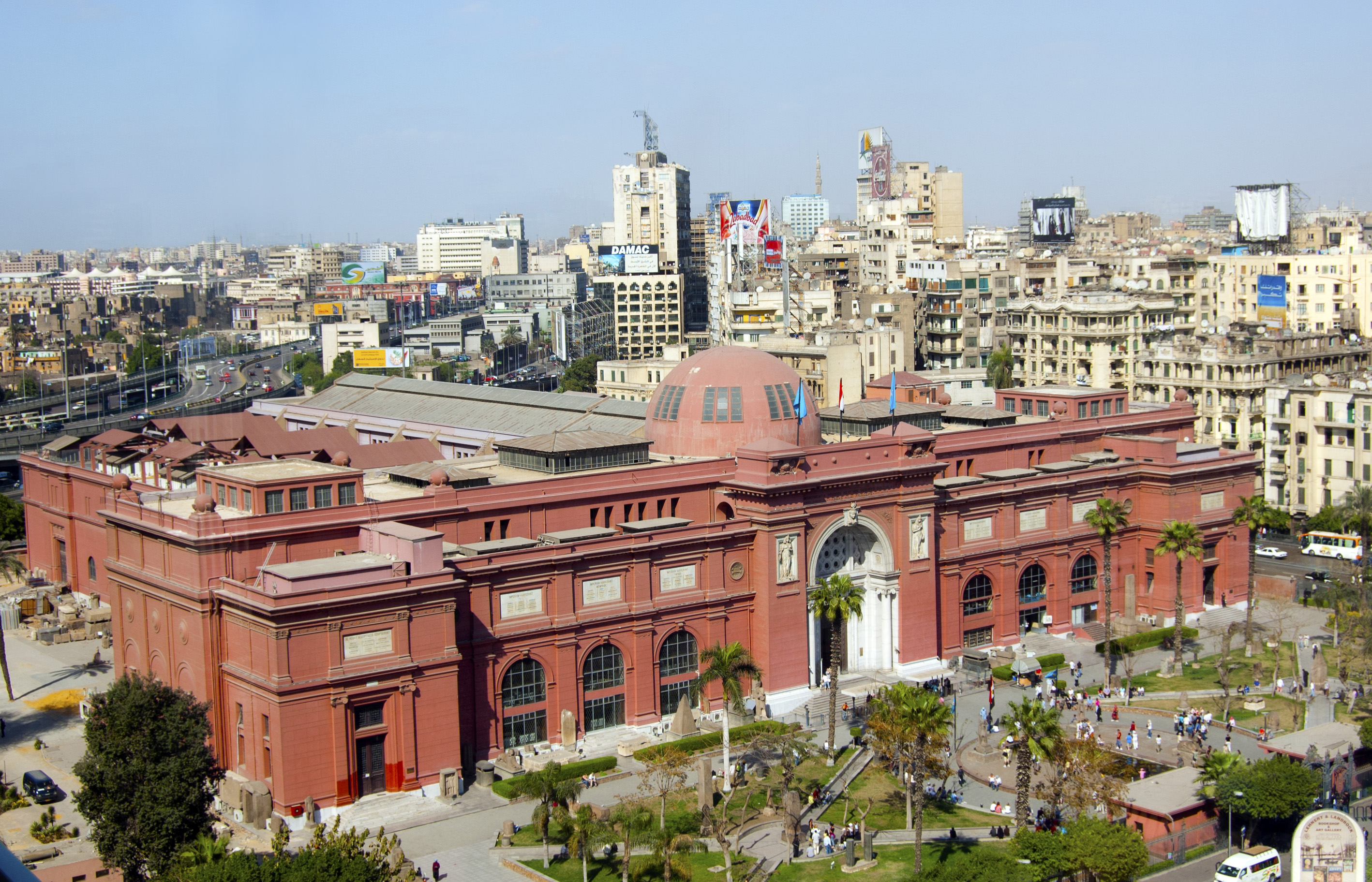 The Egyptian Museum.