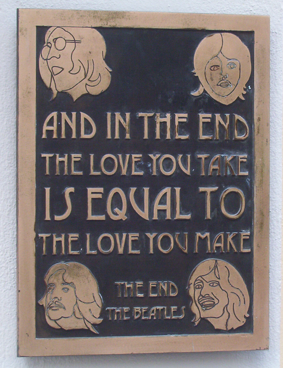 The End By The Beatles : the end beatles song wikipedia ~ Russianpoet.info Haus und Dekorationen