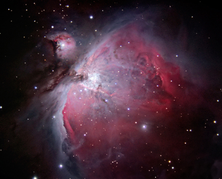 This file is licensed under the Creative Commons Attribution 2.0 Generic license.http://commons.wikimedia.org/wiki/File:The_Great_Orion_Nebula_(M42).jpg