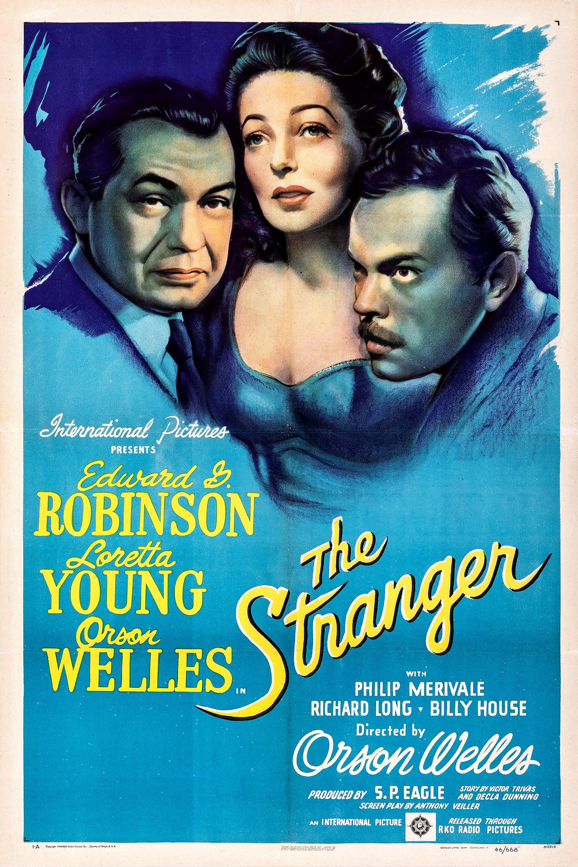 The Stranger 1946 Film Wikipedia