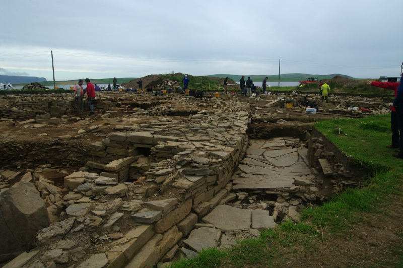 File:The excavations at Ness of Brodgar.jpg