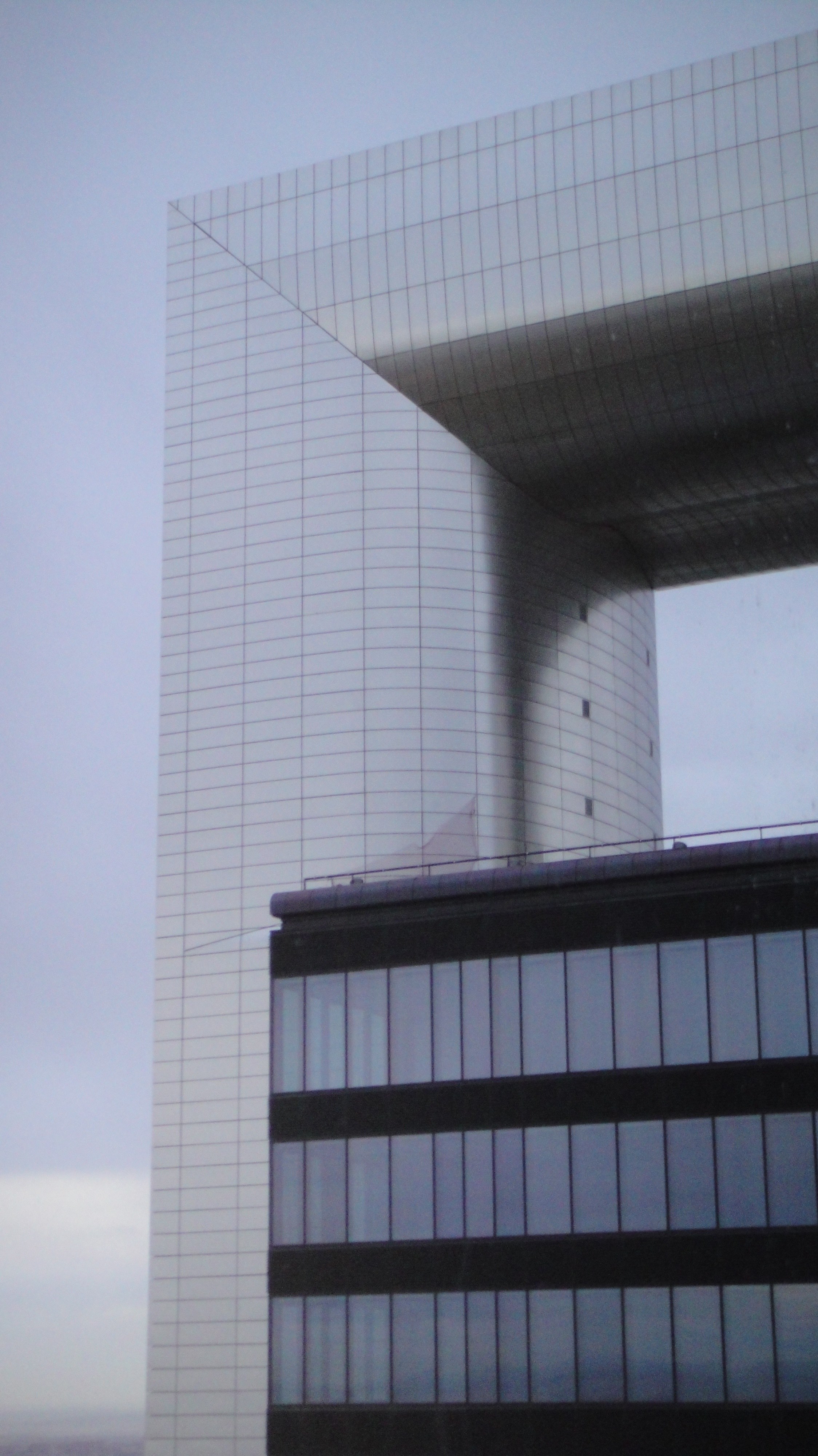 File torre caja madrid vista desde la planta 50 de la - Caja de arquitectos madrid ...