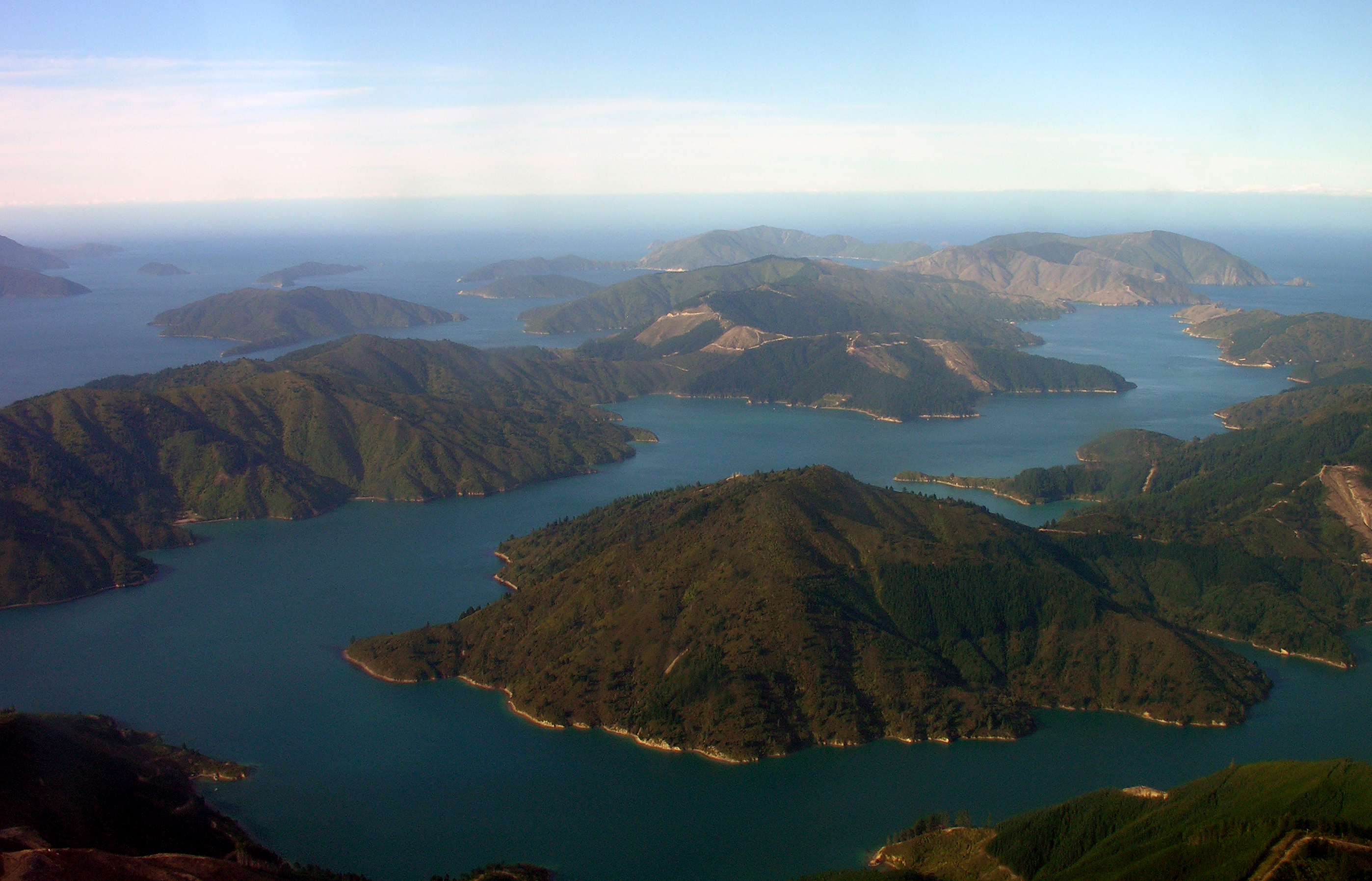 Marlborough Sounds New Zealand  city photos gallery : Description Tory Channel Marlborough Sounds