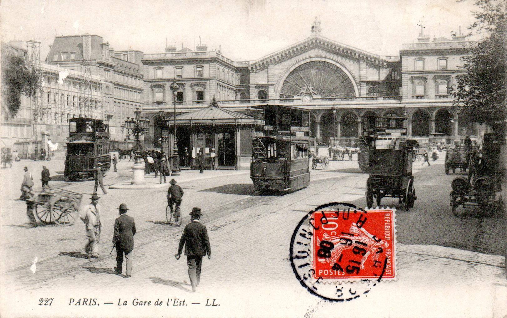 File tramway m karski paris la gare de l 39 est wikimedia commons - L eclat de verre paris ...