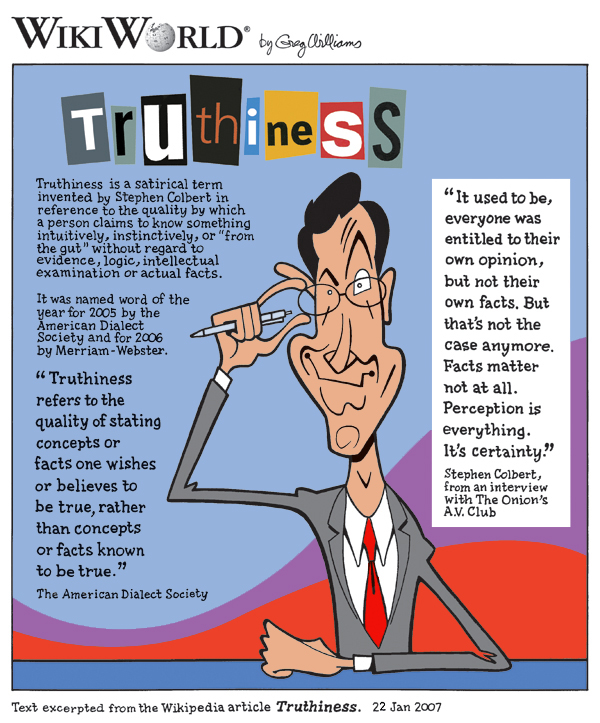 Stephen Colbert - Truthiness