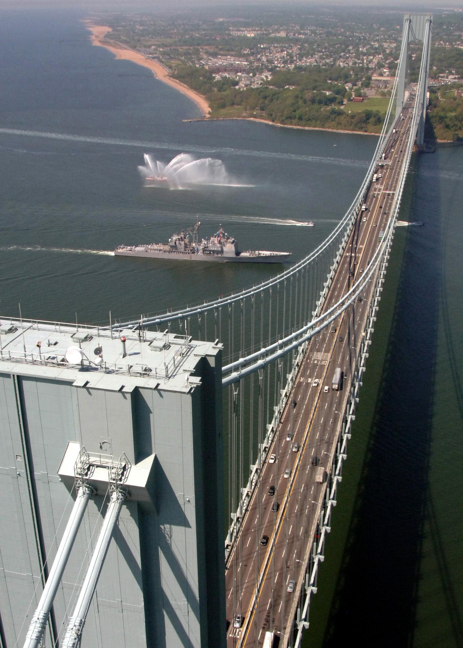 Image of Staten Island NY bridge