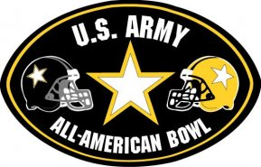 English: U.S. Army All-American Bowl logo.