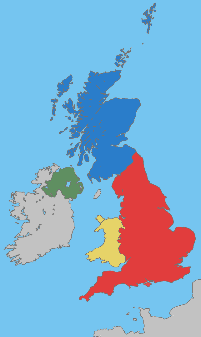 Countries Of The United Kingdom Wikipedia