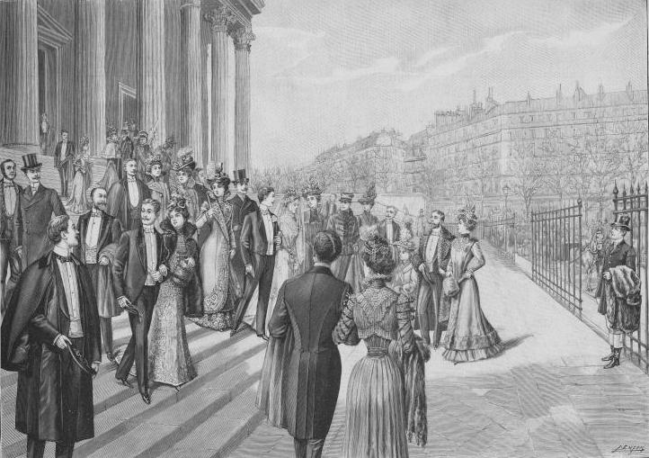 https://upload.wikimedia.org/wikipedia/commons/7/71/Un_grand_mariage_%C3%A0_la_Madeleine,_Paris,_1900.jpg
