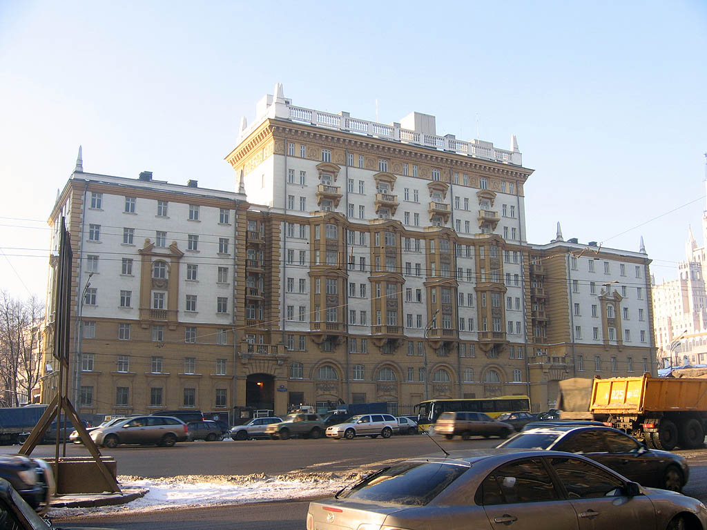 United States embassy in Moscow, Russia, 2007