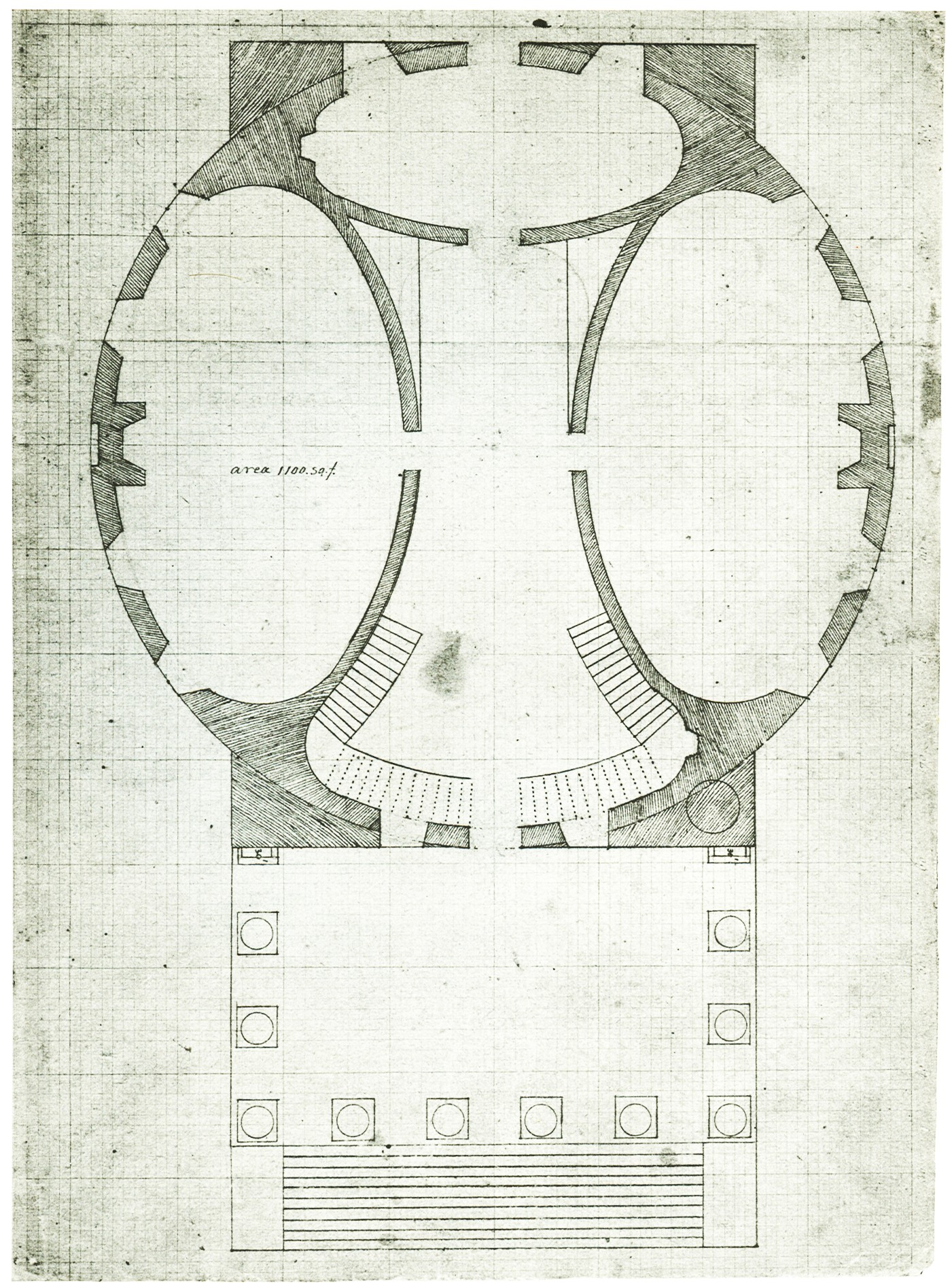 File University Of Virginia Rotunda Plan Ground Floor Jpg
