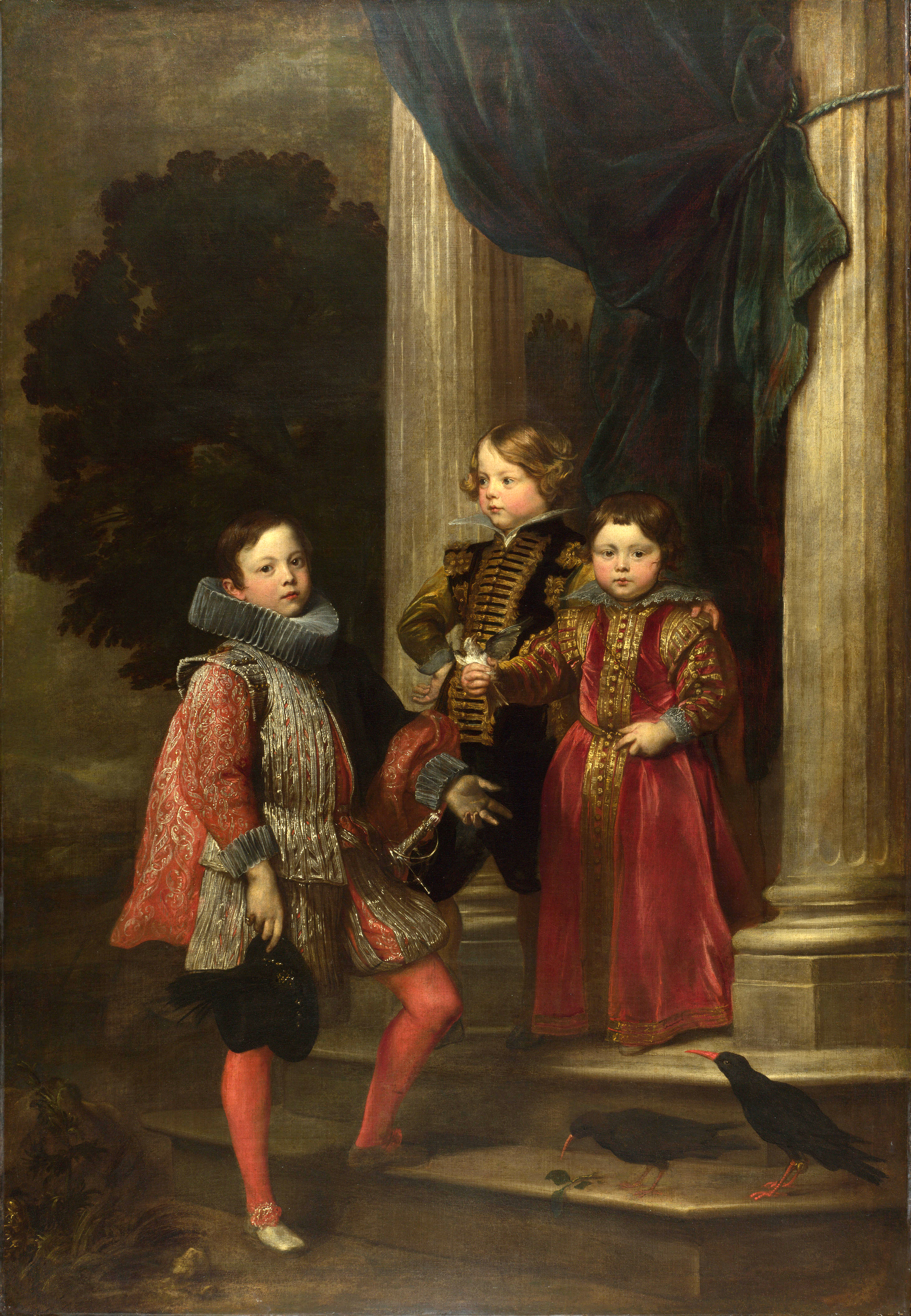File:Van Dyck - The Balbi Children 1625-27.jpg
