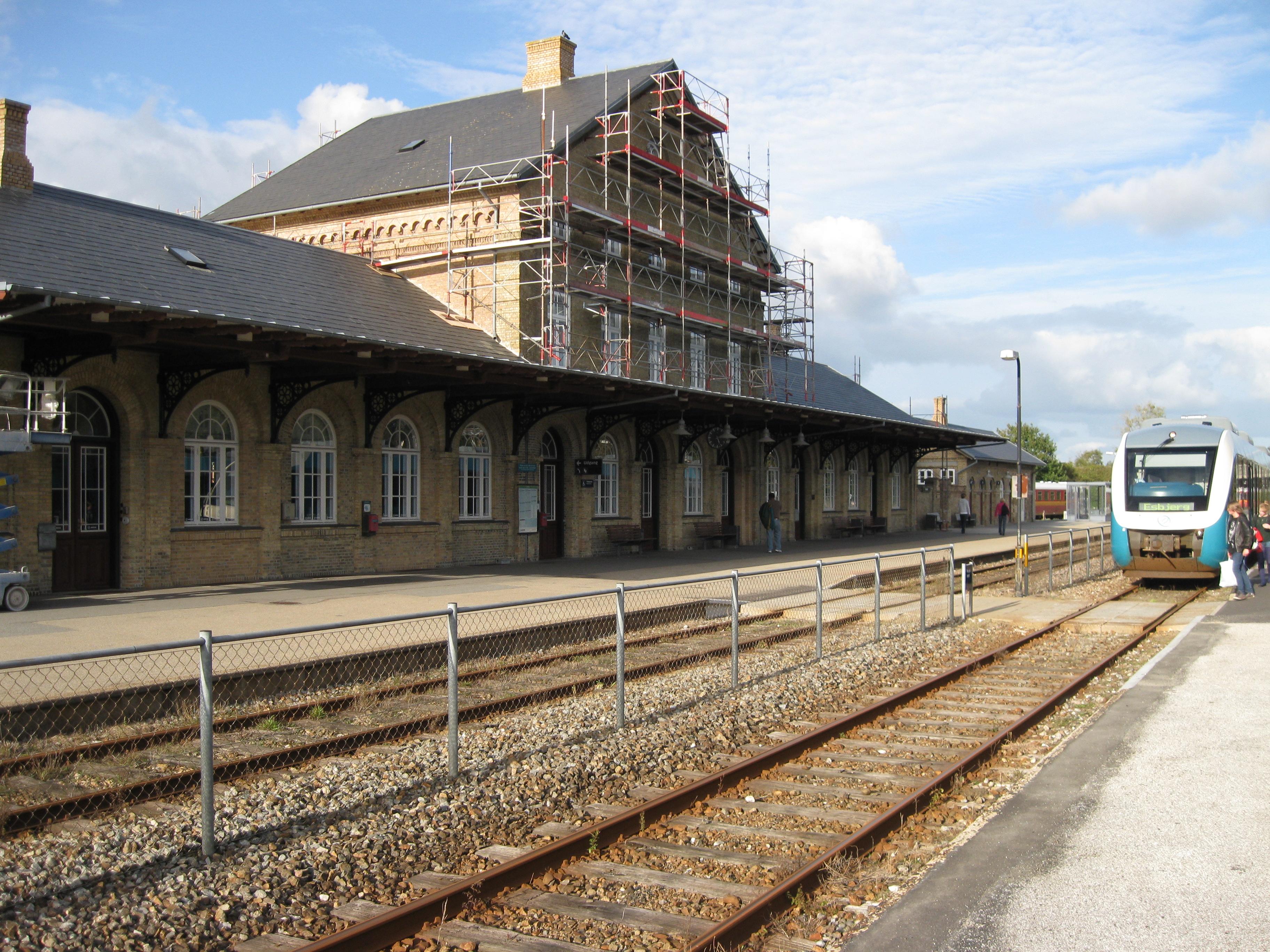 Varde_Station Varde on greve strand,