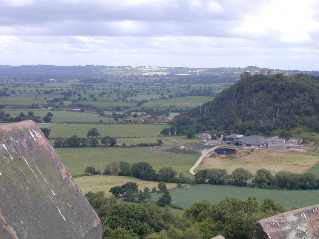 View of Beeston Castle from Peckforton Castle. - geograph.org.uk - 106233