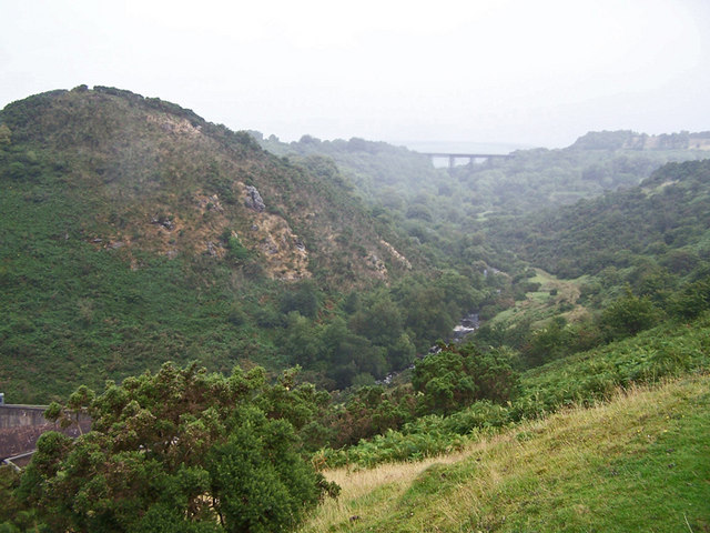 West Okement valley - geograph.org.uk - 1439105