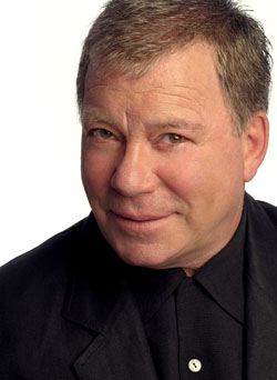 English: William Shatner photographed by Jerry...