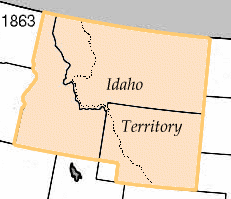 Idaho Territorys at-large congressional district