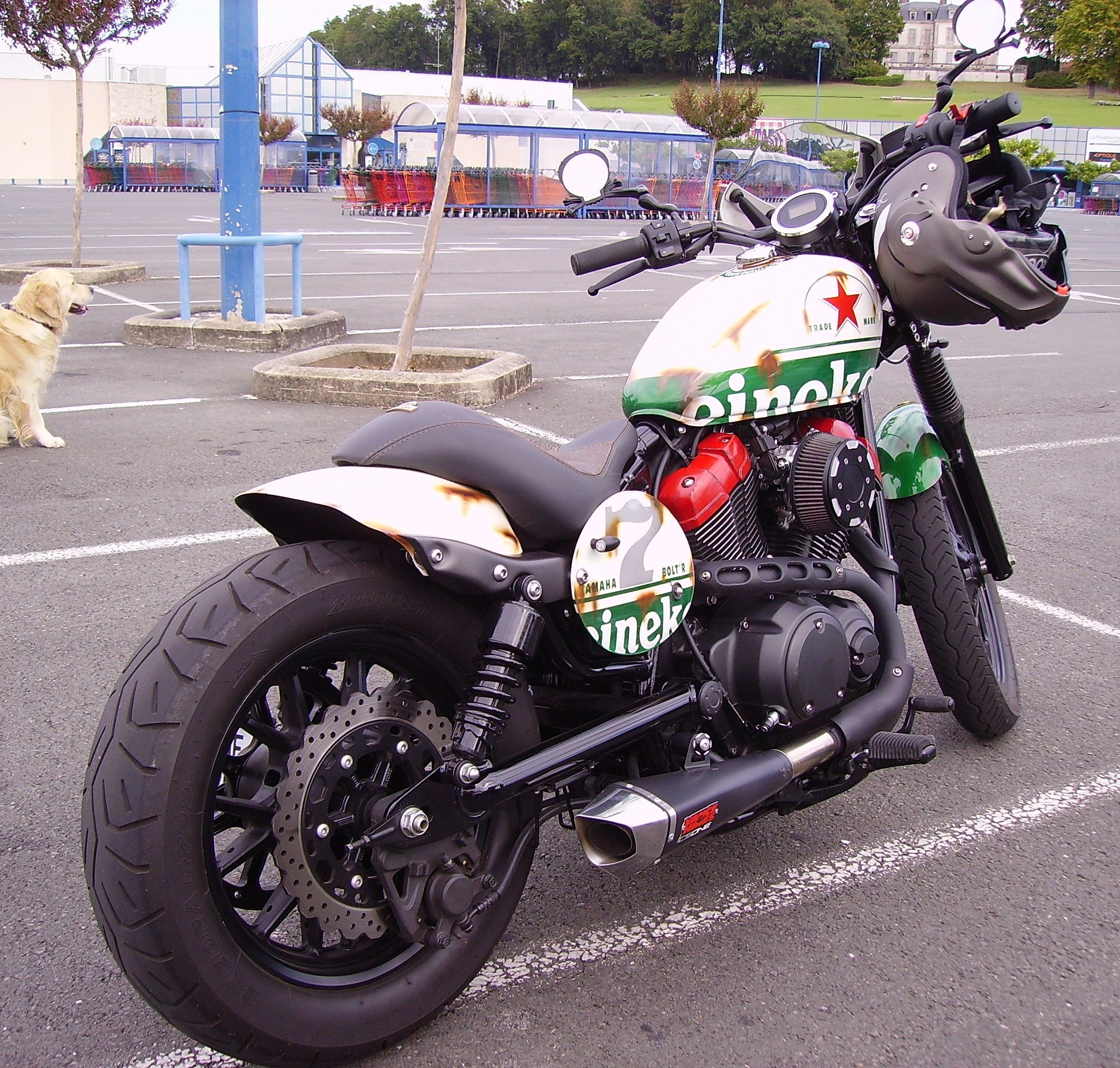 Cafe Racer Tall Rider