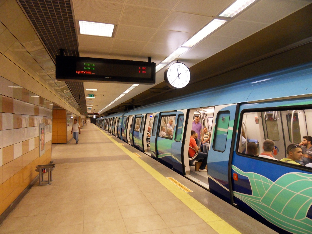 Image result for metro m4 istanbul