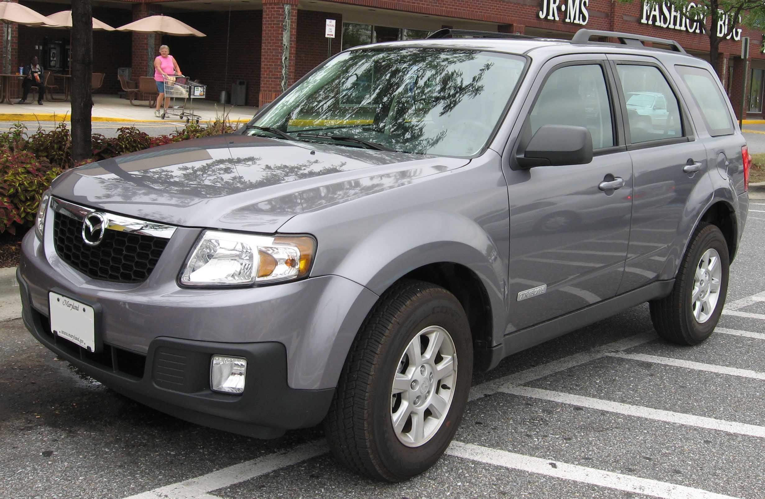 File 08 Mazda Tribute Jpg Wikimedia Commons