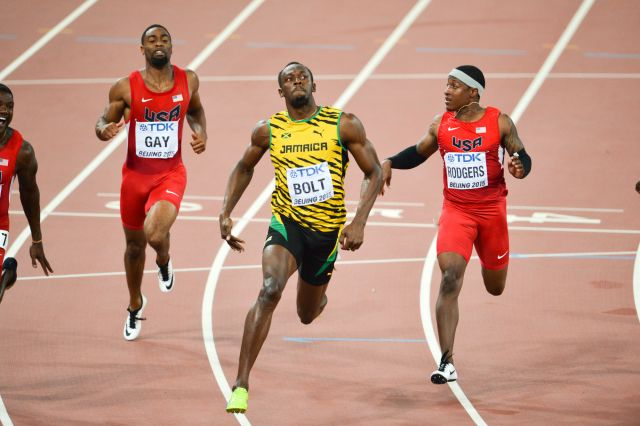 100 m final moment at 2015 World Championships in Athletics Beijing.jpg