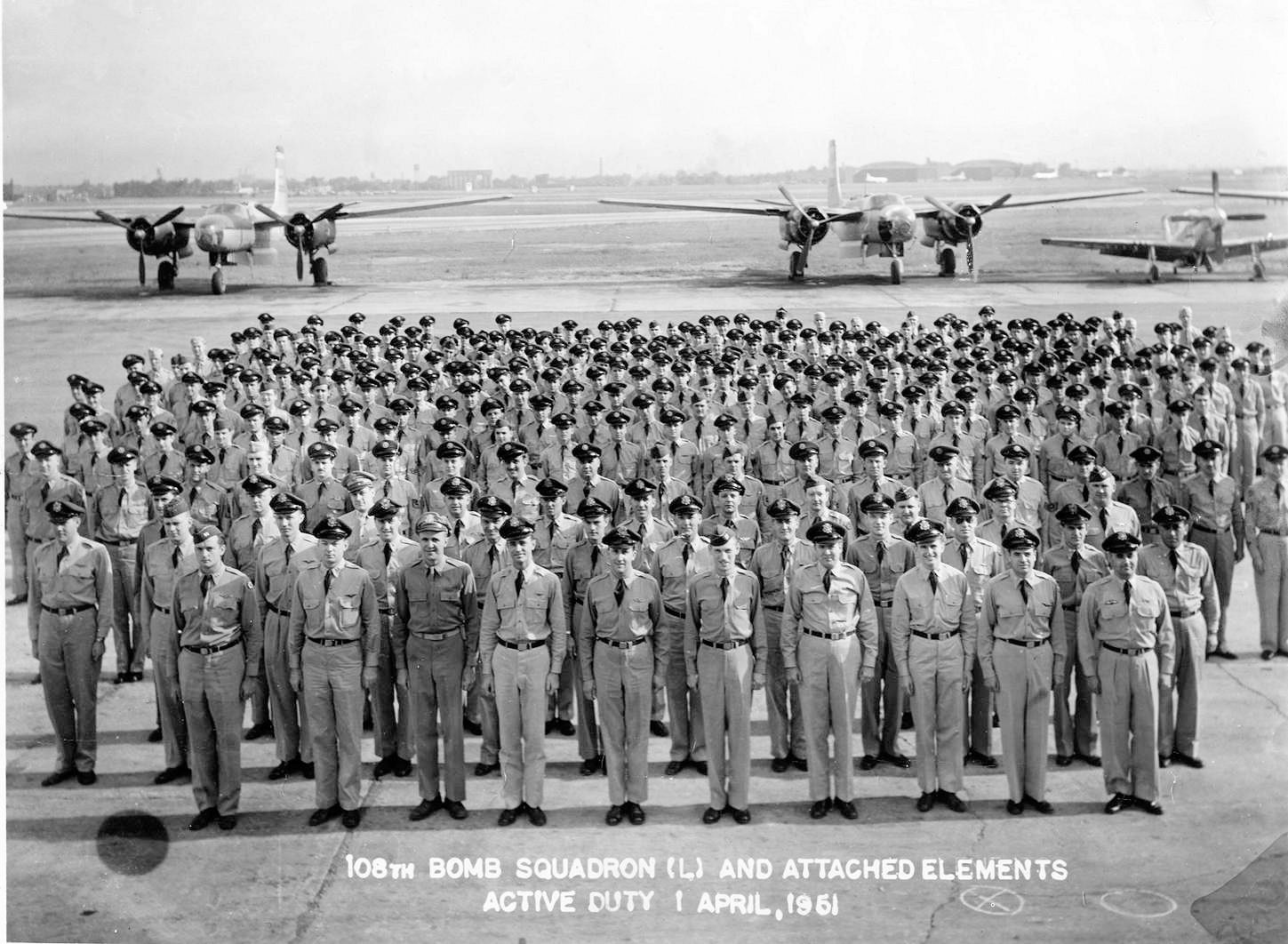File:108th Bombardment Squadron - Korean War activation ...