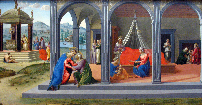 File:1506 Granacci Szenen aus dem Leben Johannes des Taeufers anagoria.JPG