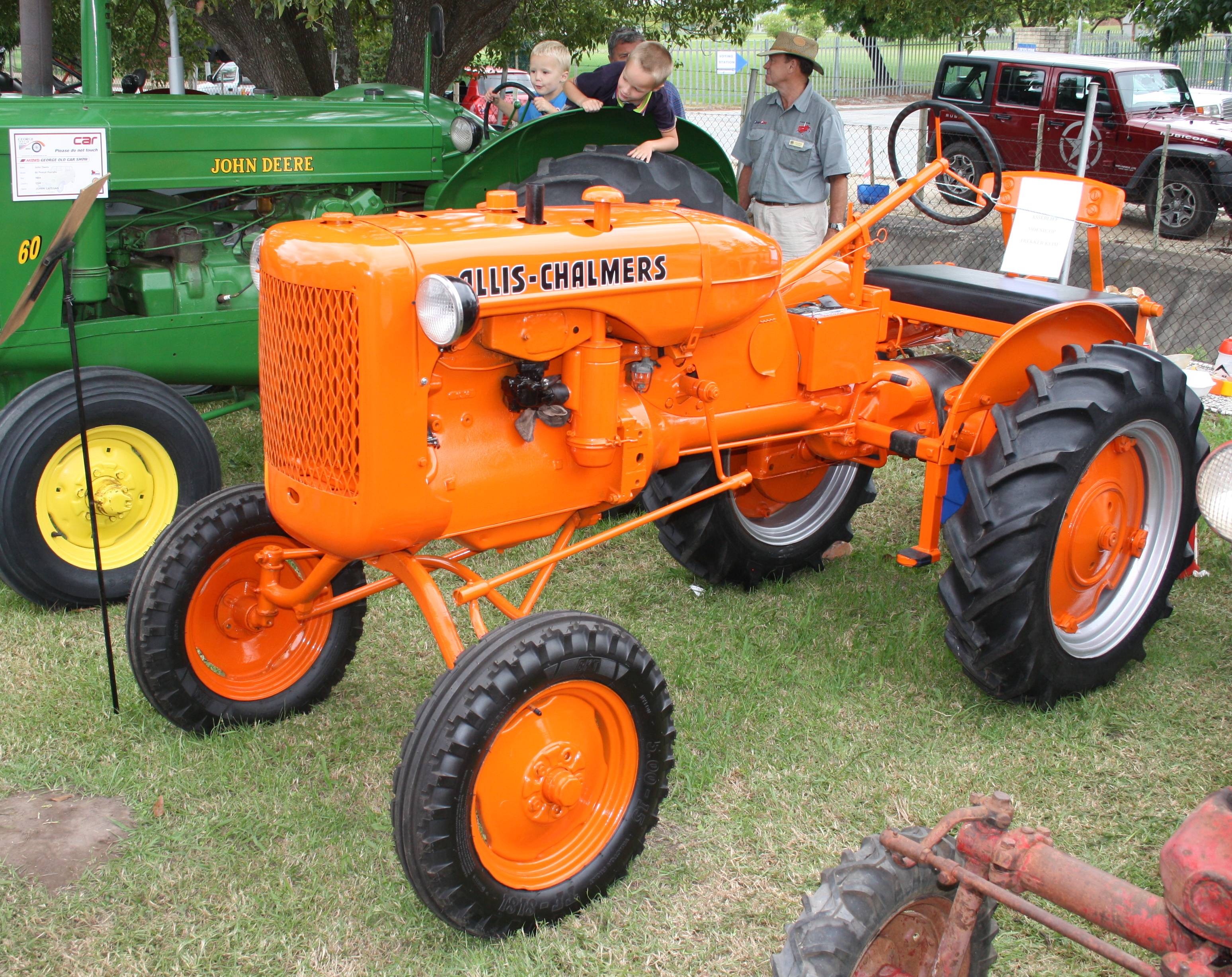 Allis Chalmers Tractor : Datei allis chalmers model b tractor