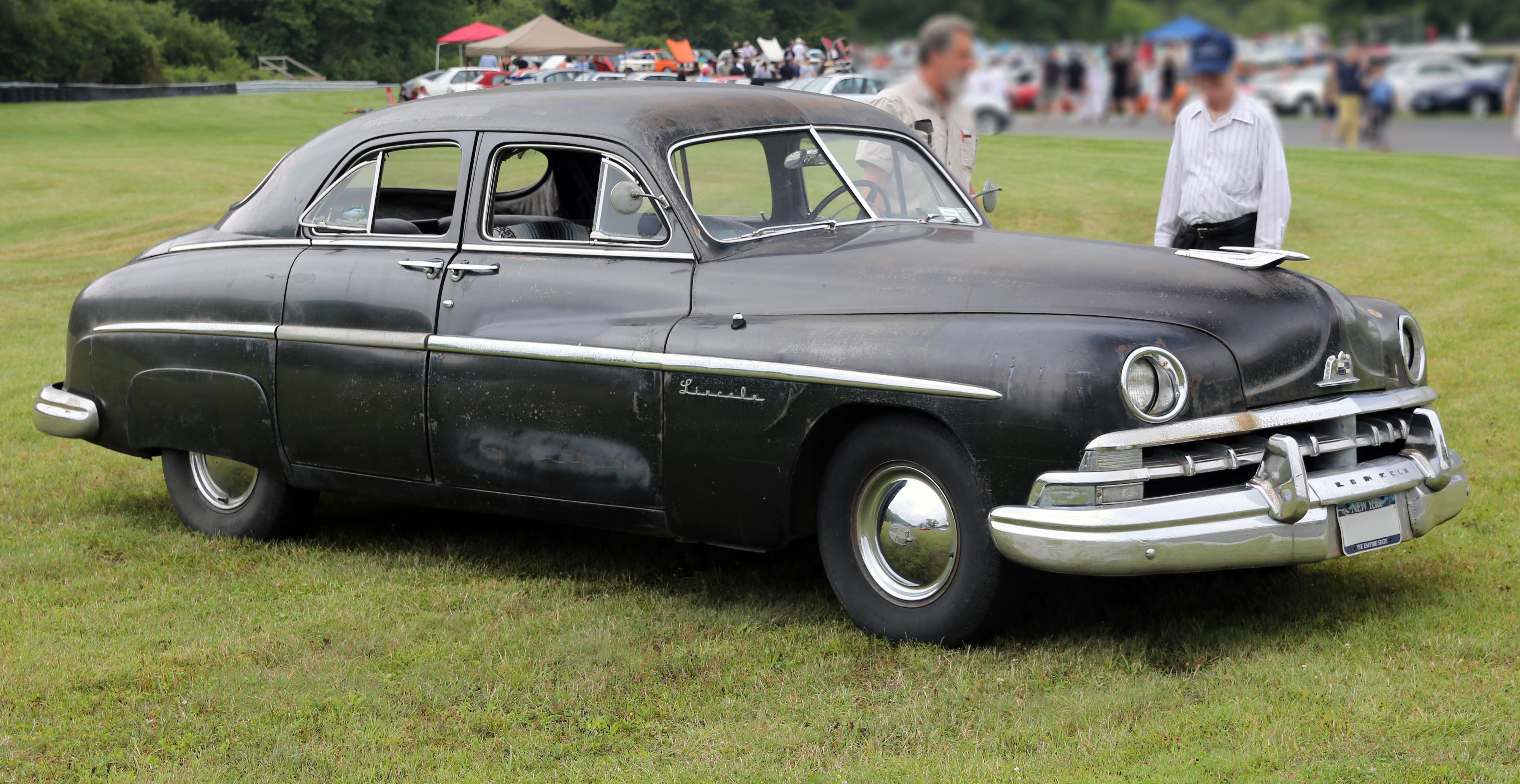 File 1950 Lincoln Standard Four Door Sedan Lime Rock Jpg
