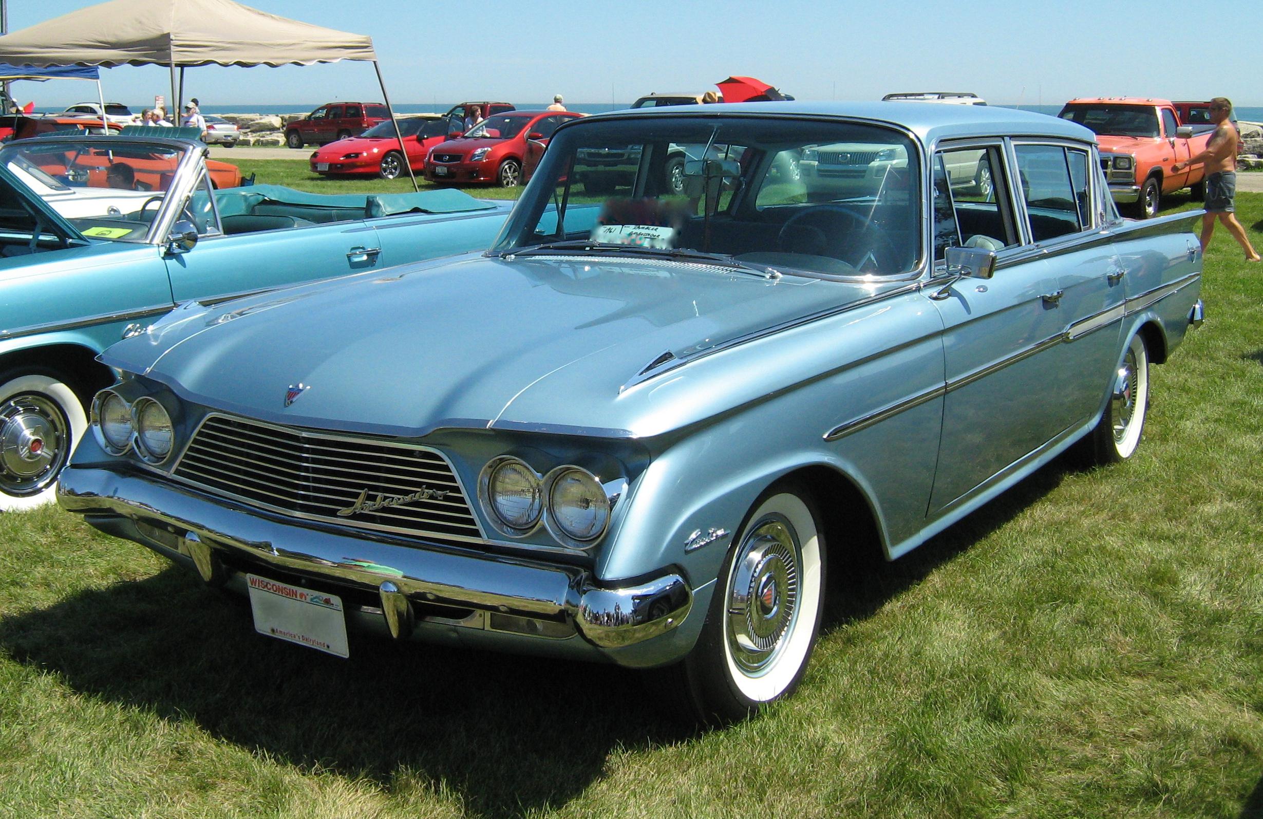 1961 amc rambler ambassador classic automobiles for American classic motor cars