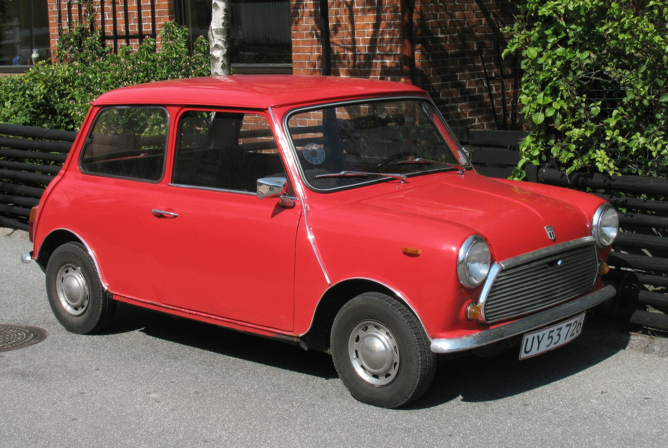 File:1970 Mini by Keld Gydum.jpg - Wikimedia Commons