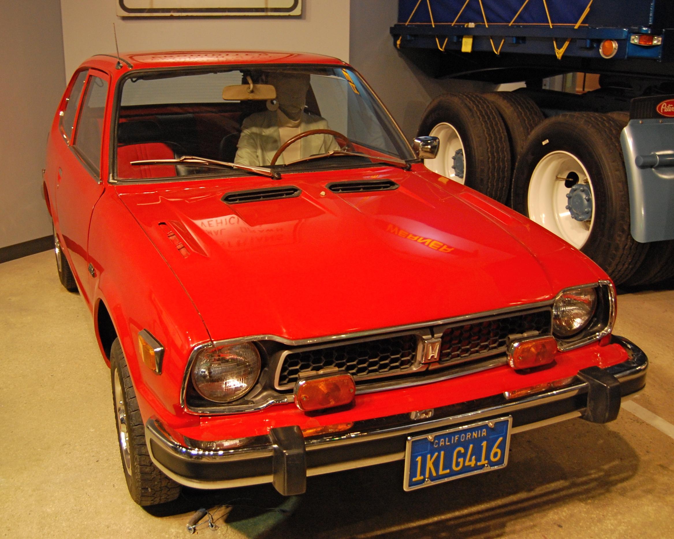 File:1977 Honda Civic.JPG - Wikimedia Commons