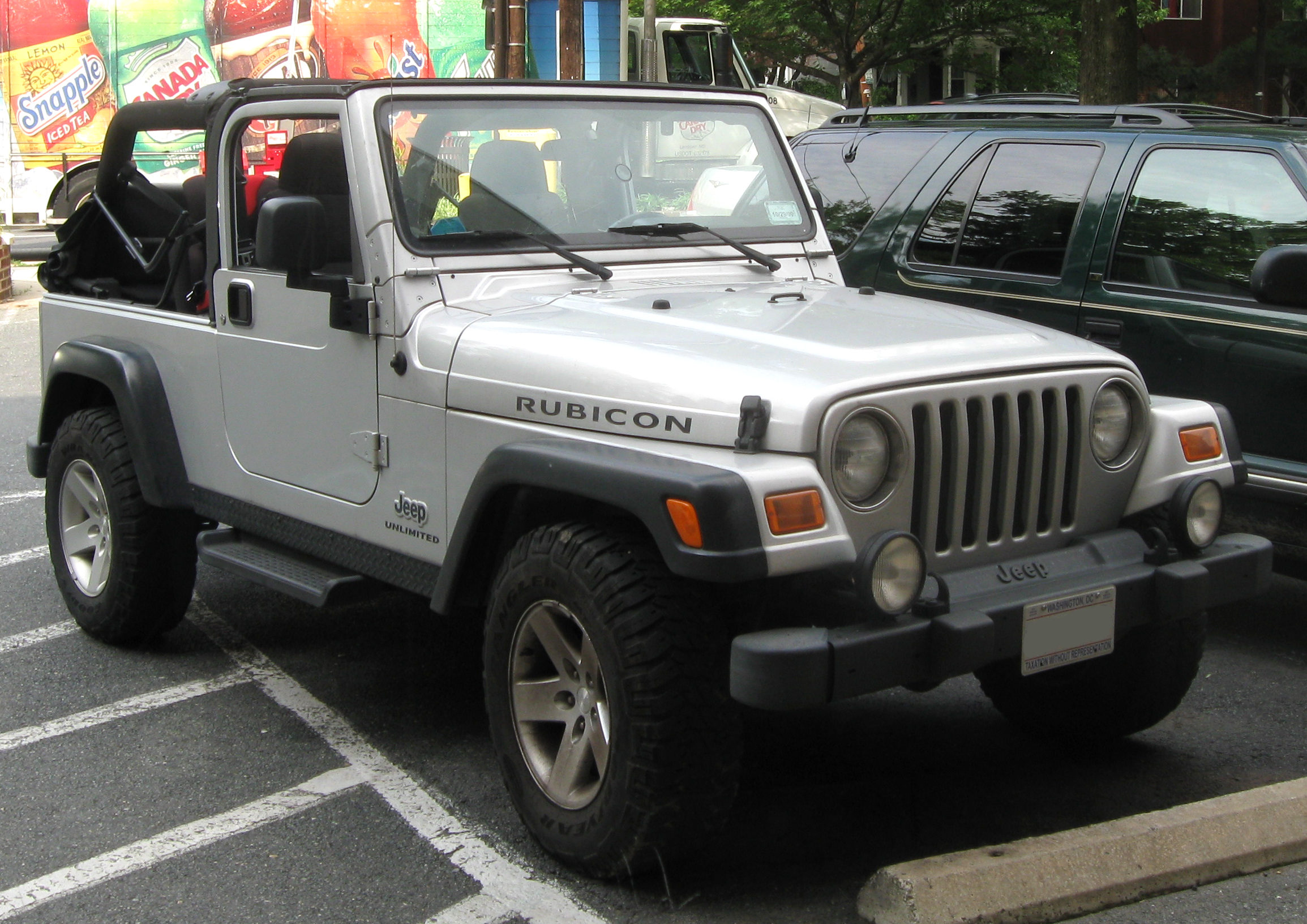Jeep Wrangler Wiki >> File:1st Jeep Wrangler Unlimited Rubicon.jpg - Wikimedia Commons