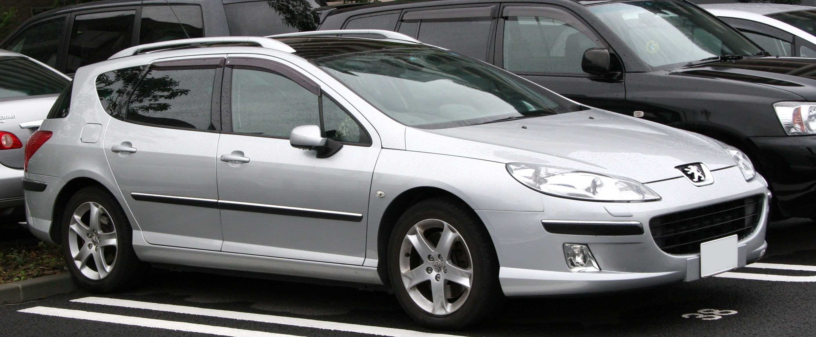 File 2005 2009 Peugeot 407 Sw Jpg Wikimedia Commons