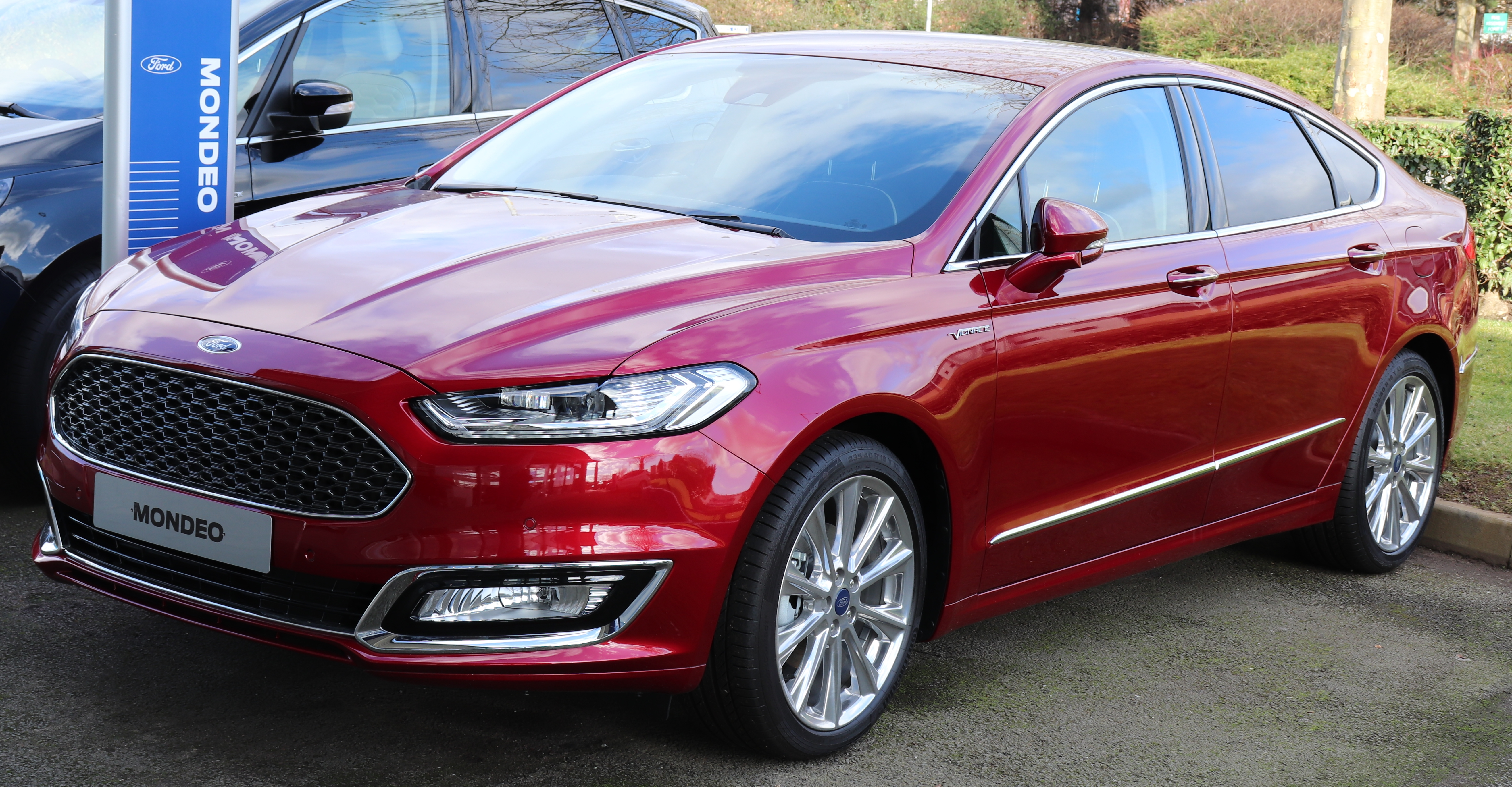 file 2017 ford mondeo vignale wikimedia commons. Black Bedroom Furniture Sets. Home Design Ideas