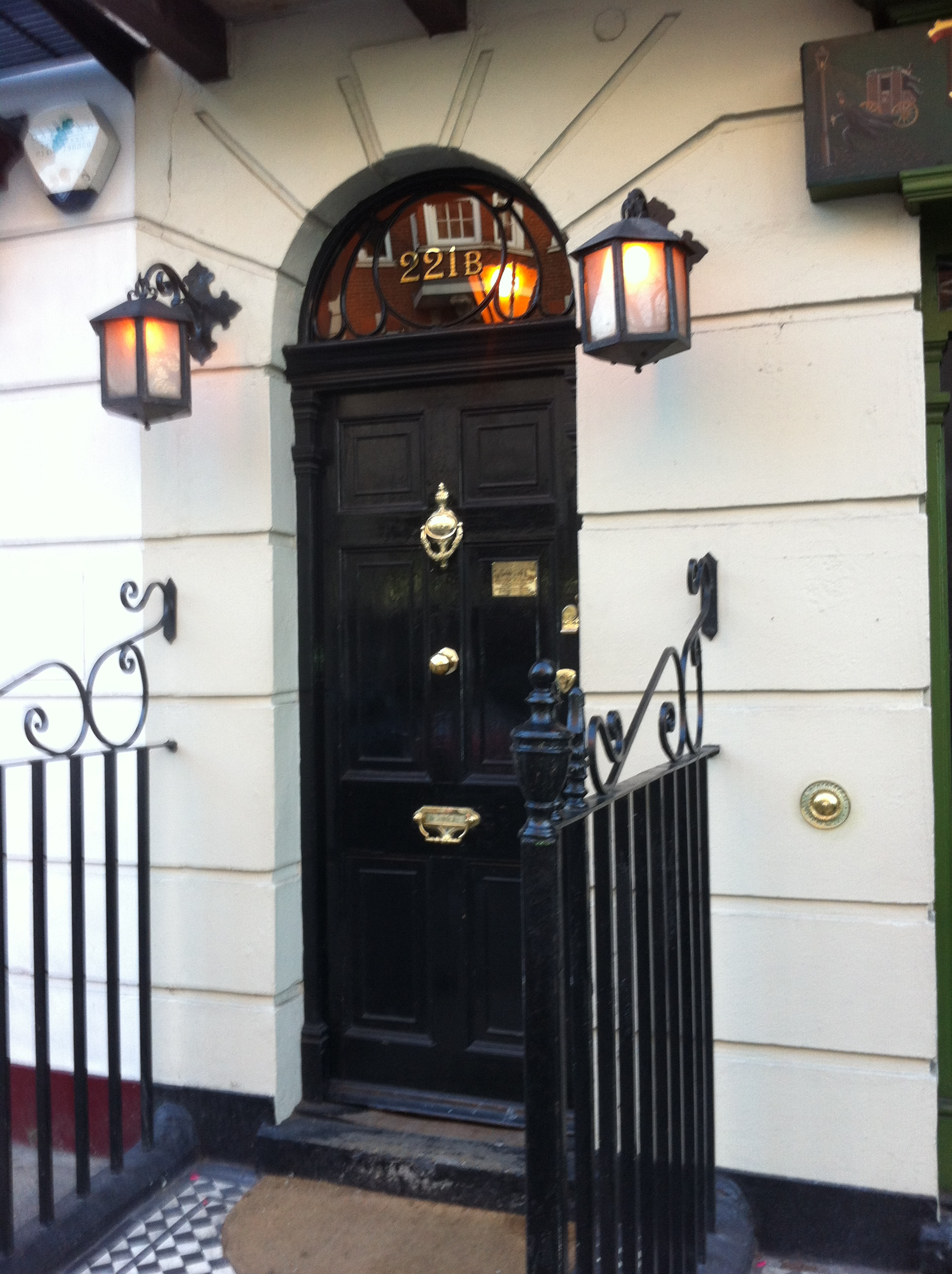 what is 221b baker street