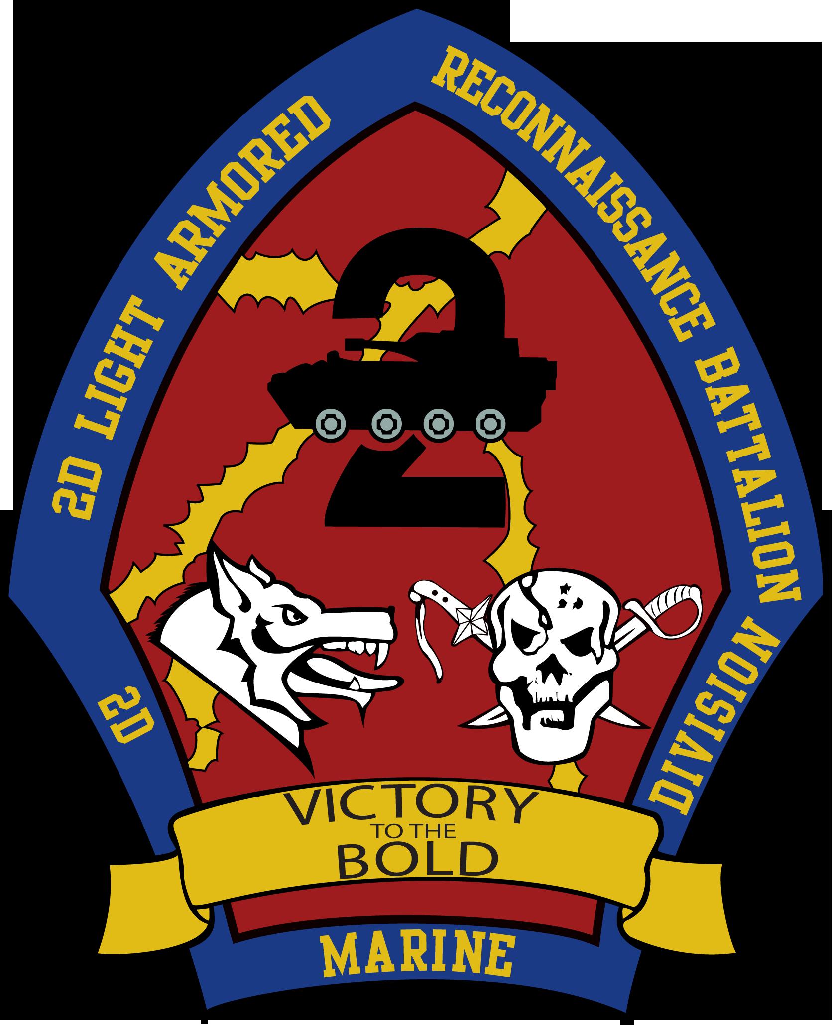 STICKER USMC UNIT   1ST RECON BATTALION