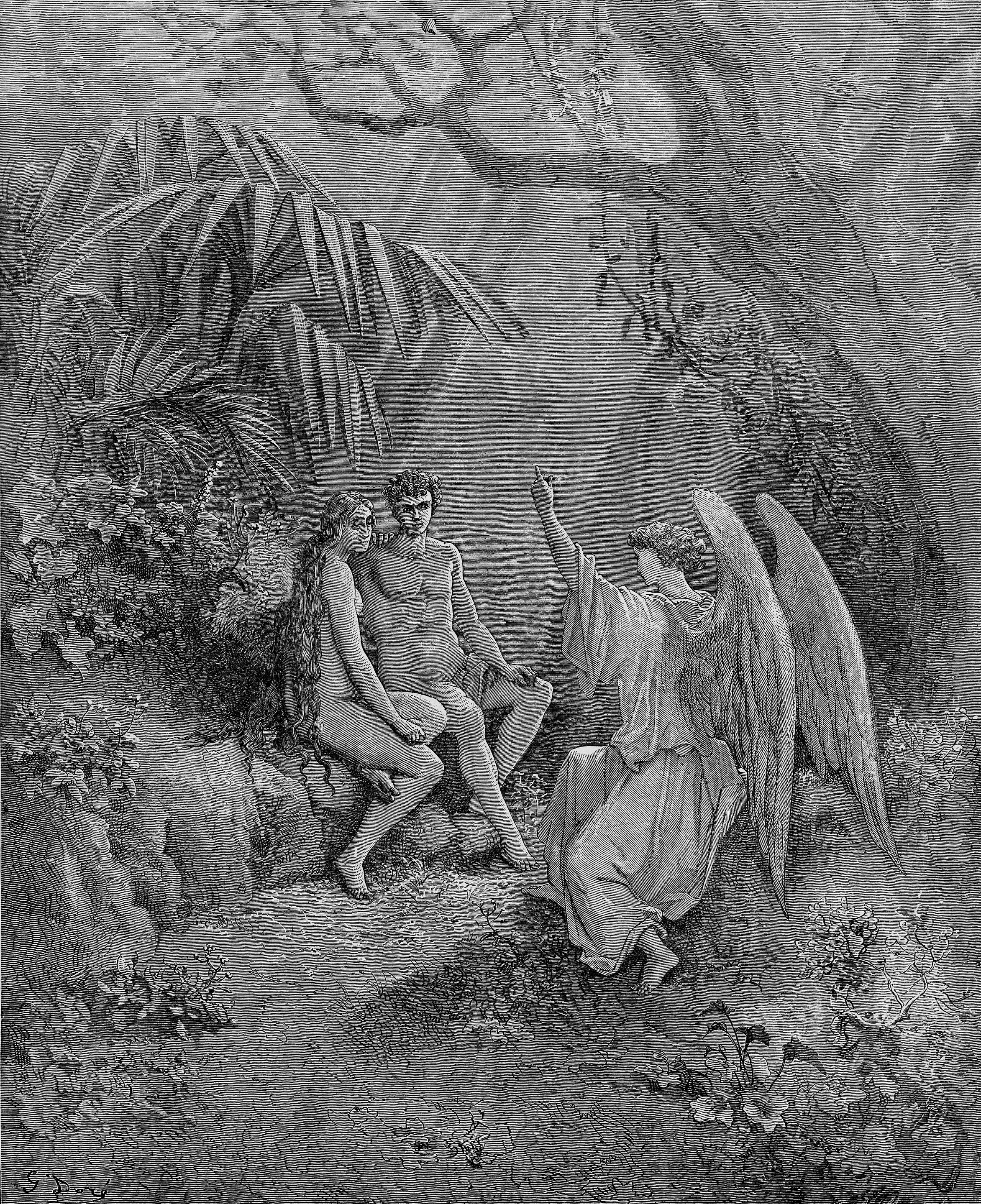 a comparison of good versus evil in paradise lost by john milton That all this good of evil  paradise lost, by john milton describes the temptation of humankind and their eventual fall from paradise in the poem, milton.