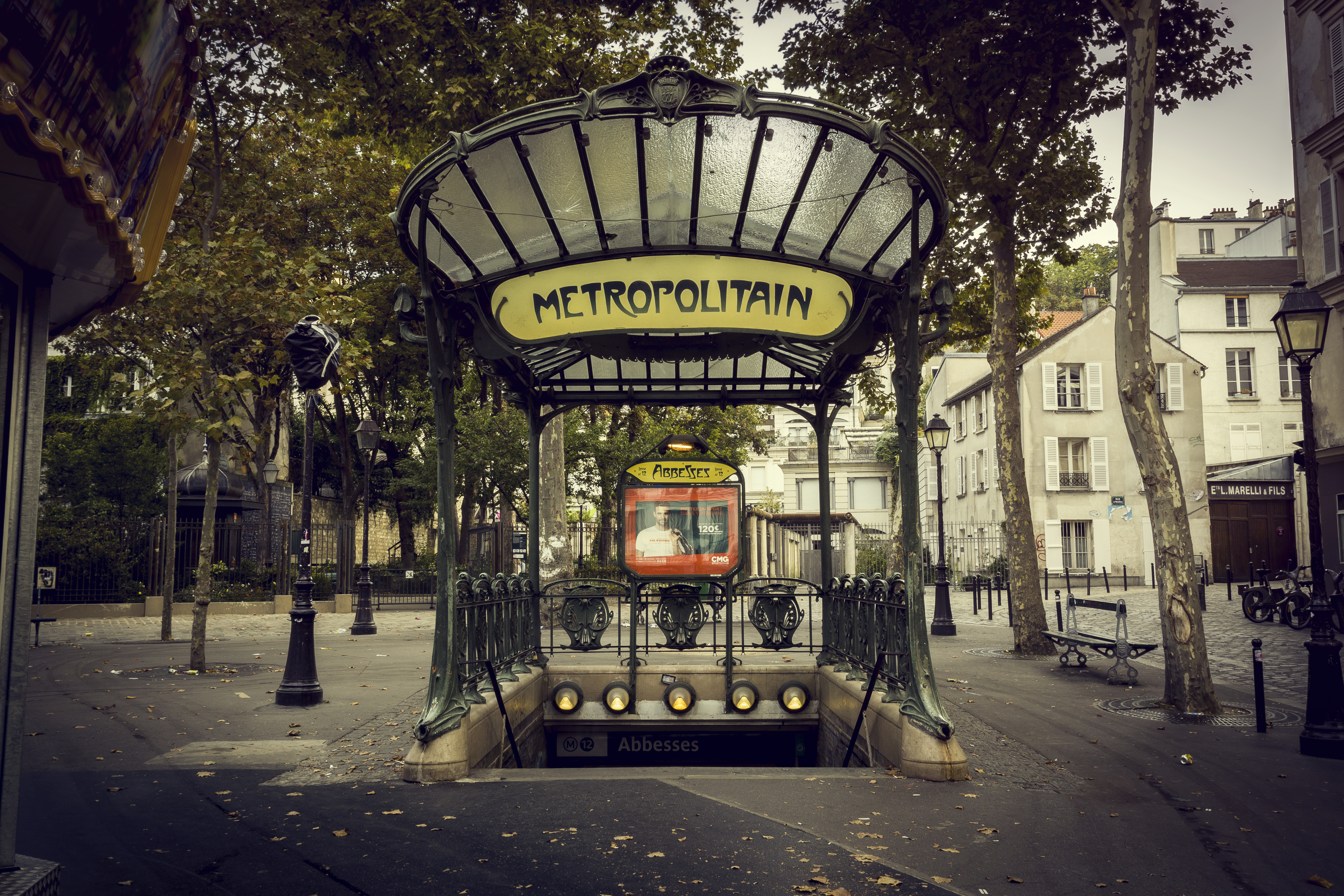 Abbesses Métro entrance