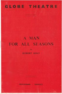 A man for all seasons essay