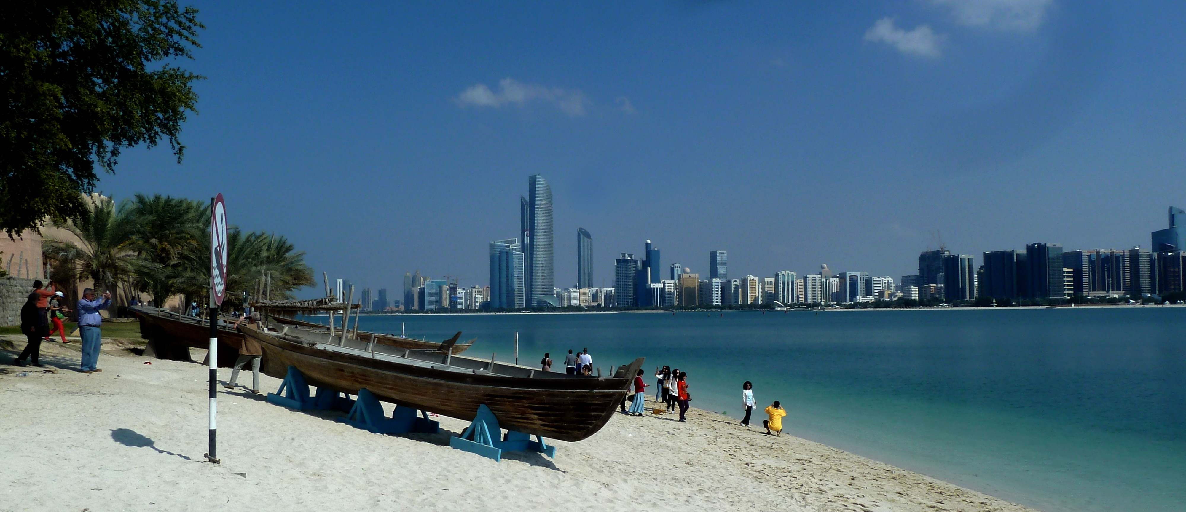 Image result for abu dhabi corniche beach