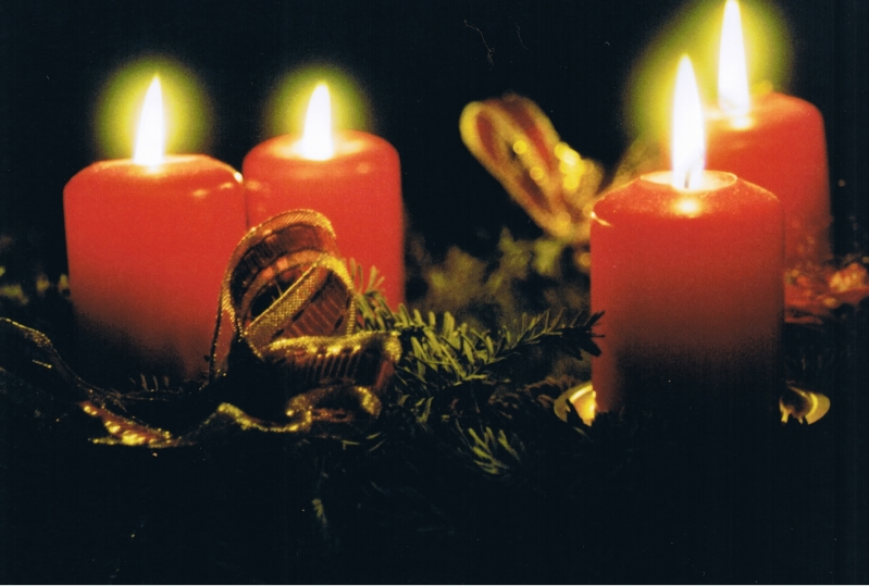 Advent 4 Kerzen