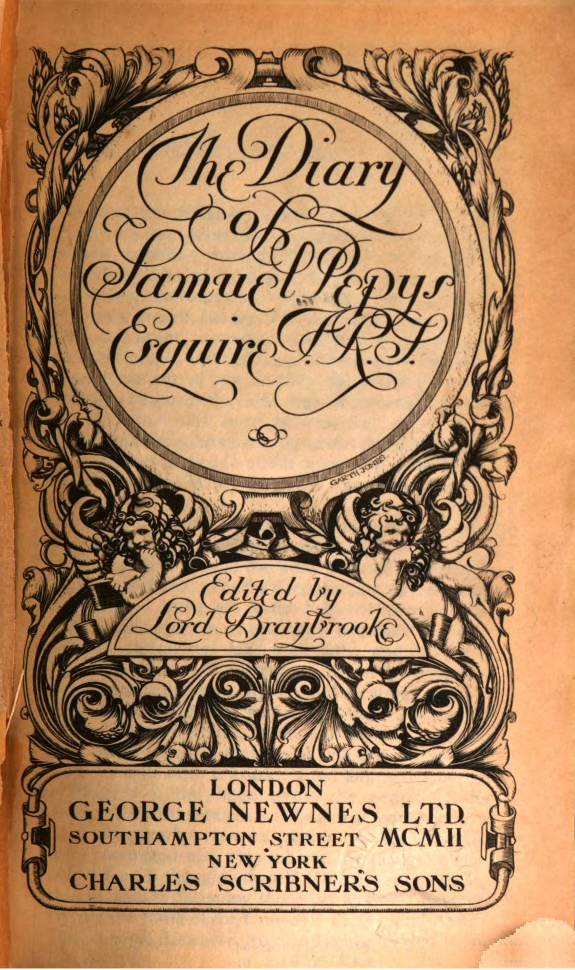 The Diary of Samuel Pepys - A Leisurely Daily Reading, Join as You ...