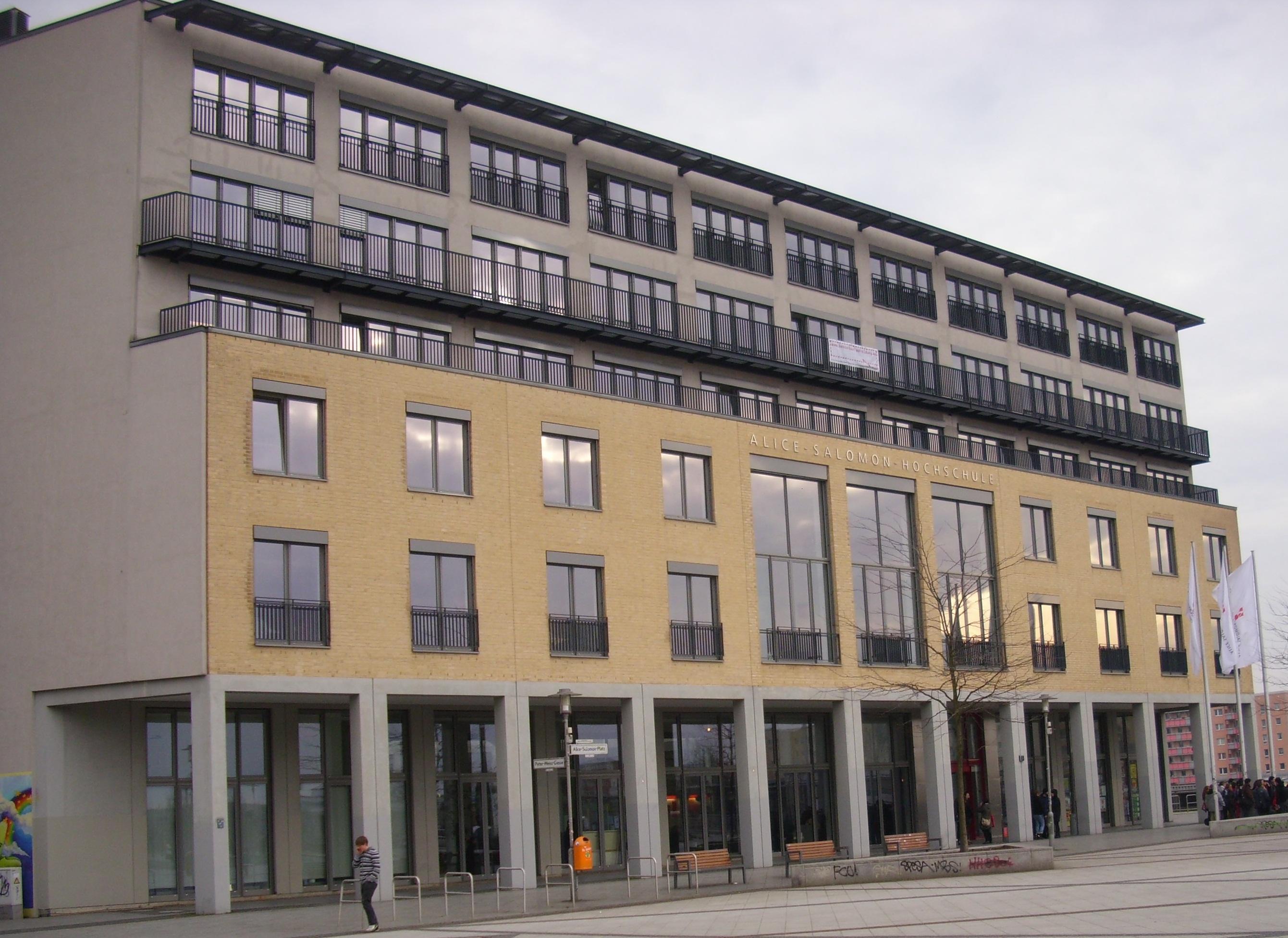 Kauf authentisch authentisch verschiedenes Design File:Alice Salomon Hochschule Berlin.JPG - Wikimedia Commons