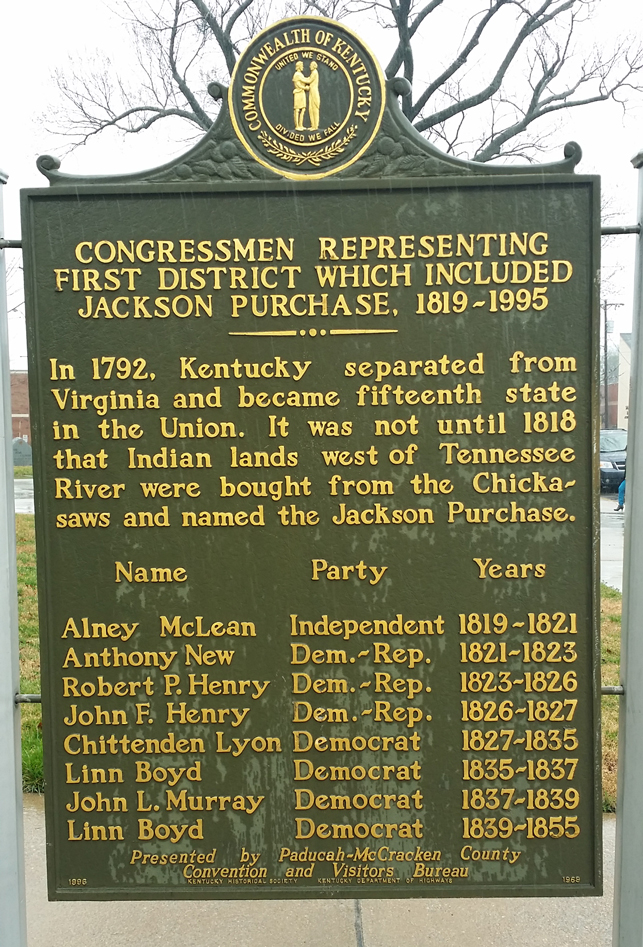 Kentucky's 1st congressional district - Wikipedia