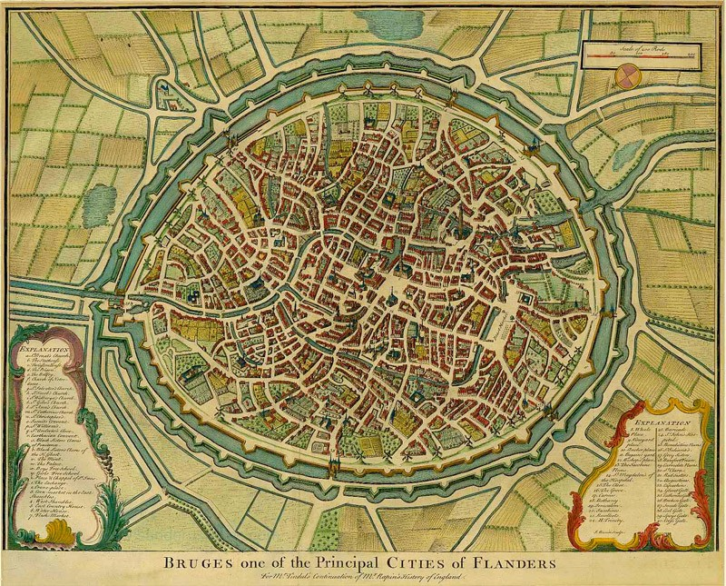 FileAntique map of Brugge by Rapin de Thotrasjpg Wikimedia Commons