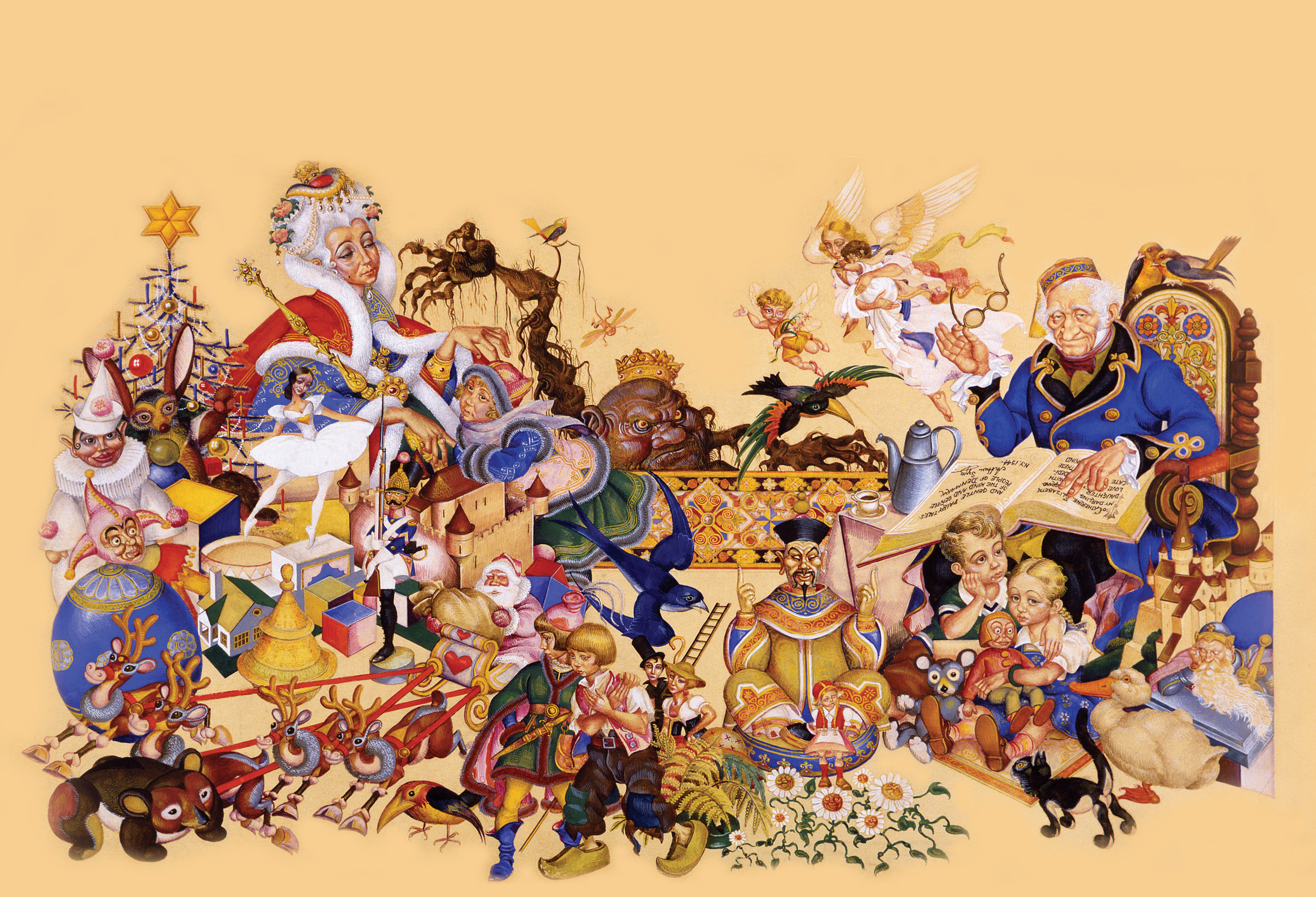 About Arthur Szyk | Biography | Caricaturist, Painter, Illustrator | United States of America ...