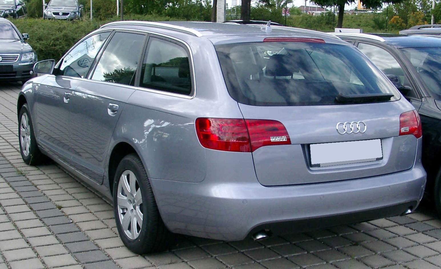 File Audi A6 C6 Avant Rear 20080820 Jpg Wikimedia Commons