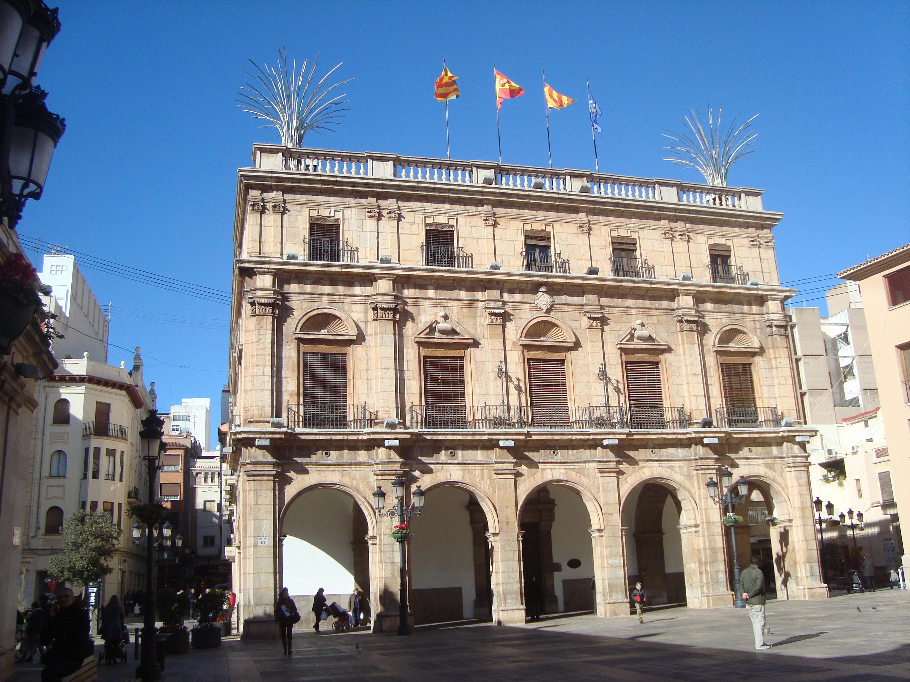 File ayuntamiento de castell n de la plana castell n jpg wikipedia - Muebles en castellon dela plana ...